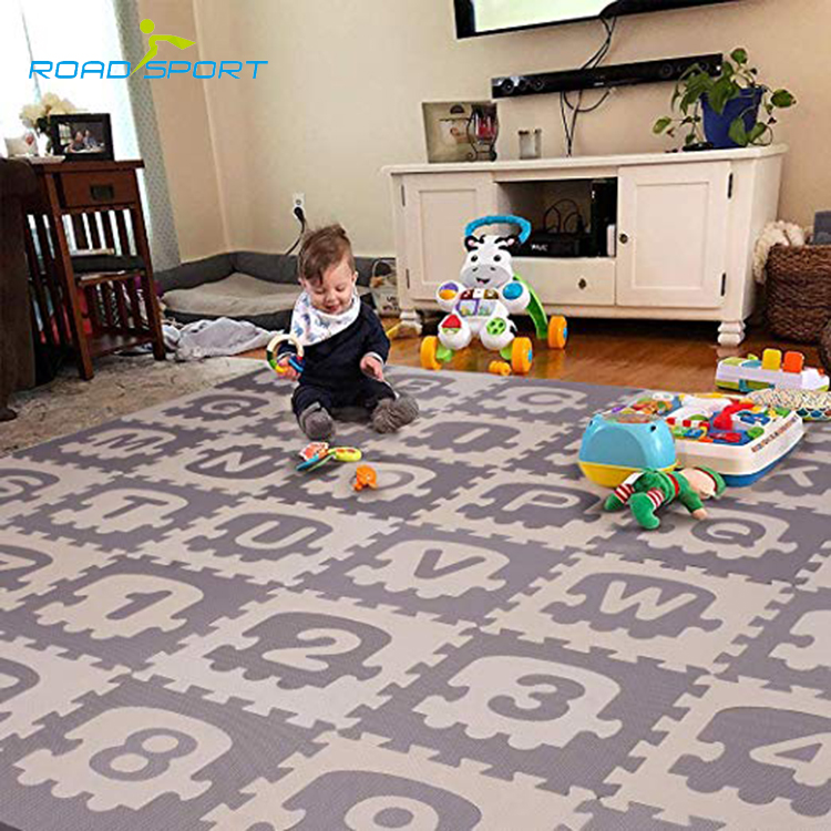 Kids play mat educational eva foam puzzle floor mat OEM