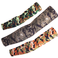 High Quality Multi-function Multi-color Camouflage Compression Sports Cycling Protective Arm Sleeve