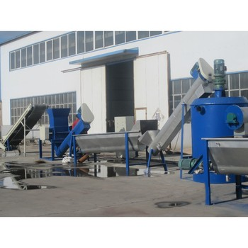 Cost of Waste Plastic Recycling Machine, PET Bottle Washing Recycling Line price
