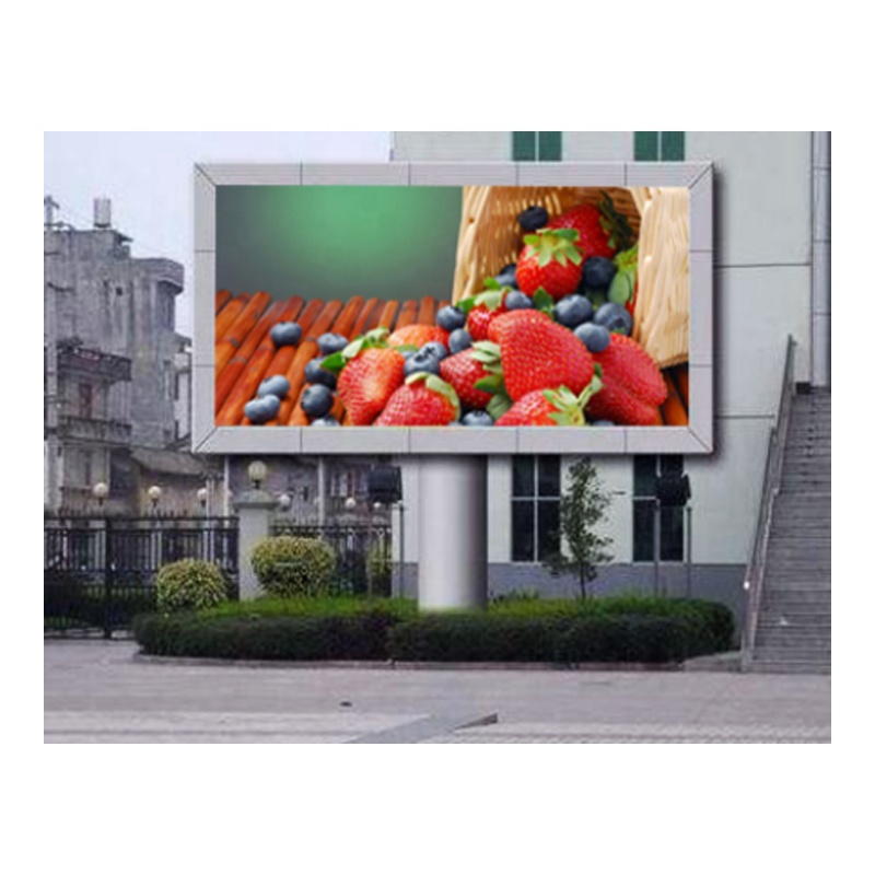 High Brightness P16 RGB Outdoor Led TV Advertising Signs Screen Large Size Wall P16 Full ColorFixed LED Billboard Display
