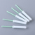 Wholesale industrial cotton swab dust free cotton buds single head plastic stick