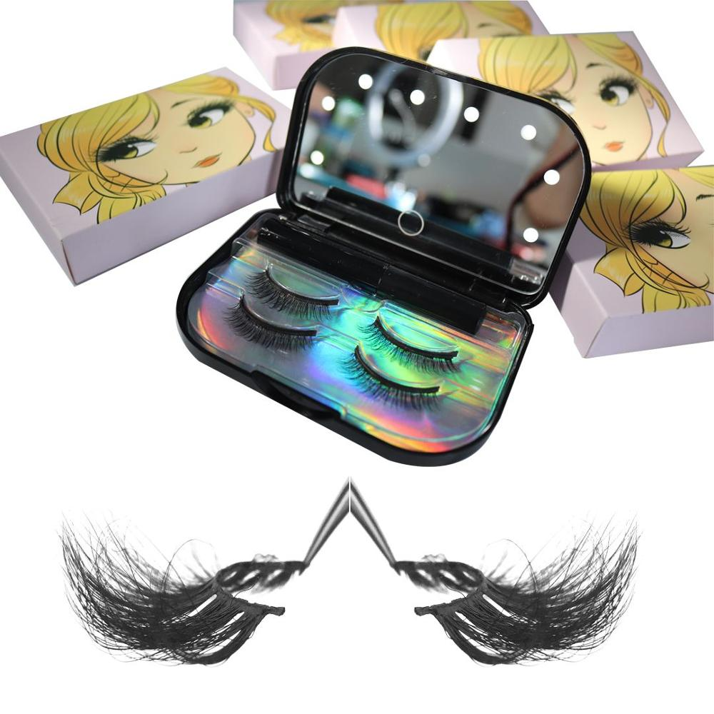 2019 Meet beauty 3d mink eyelash,Natural distributors free samples custom packaging 3d mink eyelashes Vendor