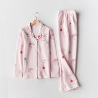 Vietnam cheap women cotton sleepwear pyjamas