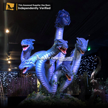 My-Dino customized animatronic greek mythology dragon