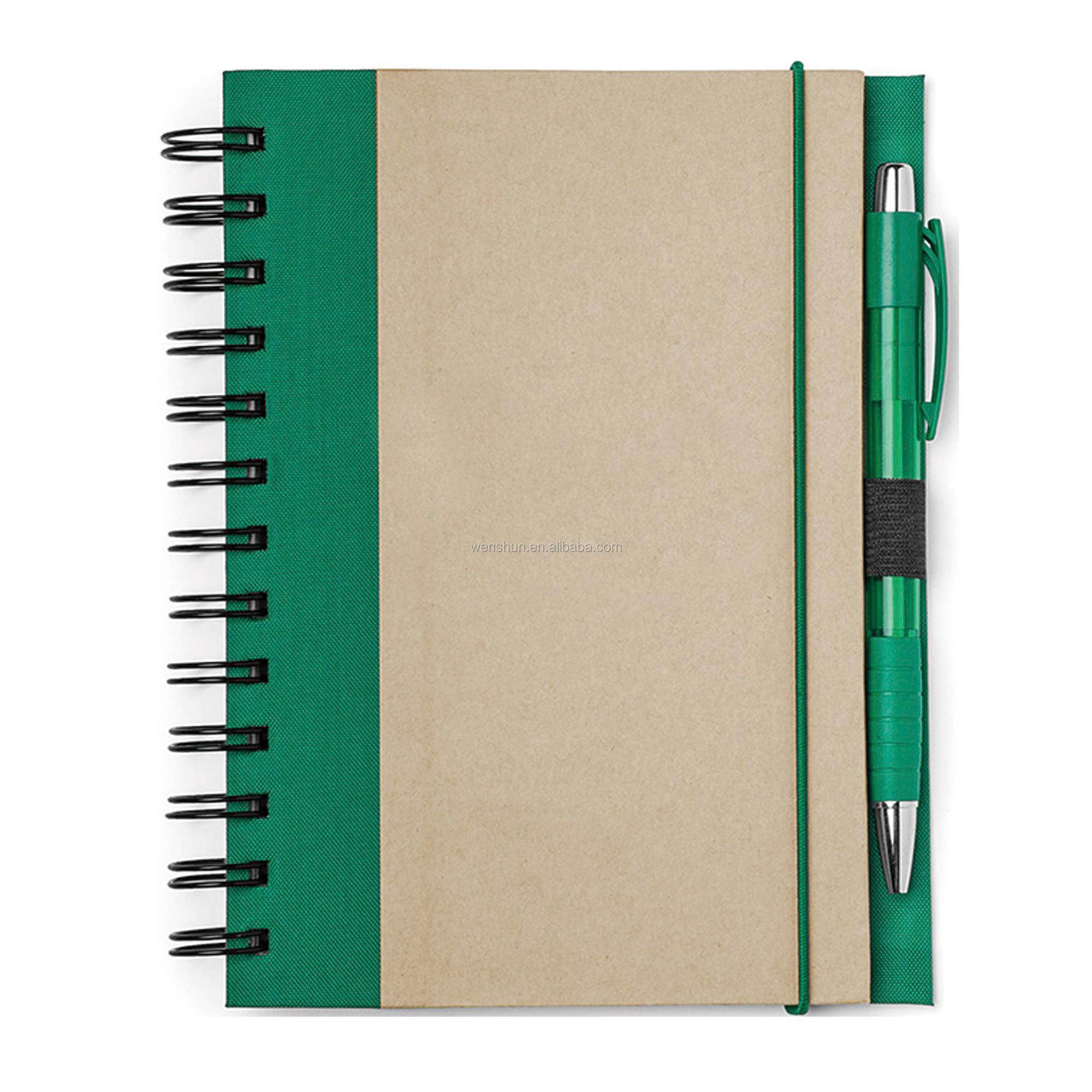 Eco Recycled Samples of Notebook Cover Designs Synthetic Paper Notebook