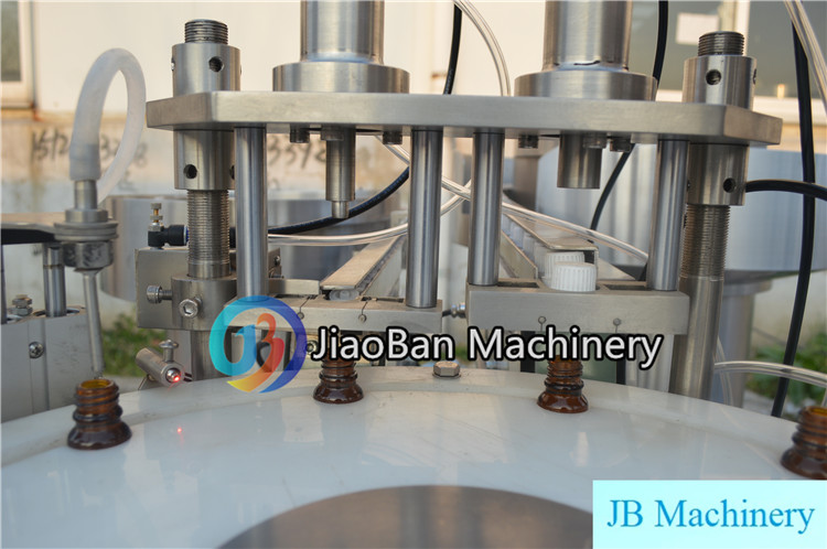 JB-YX2 Automatic essential oil filling equipment for cbd oil, perfume rose oil production line 10ml 30ml