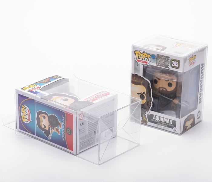 Acid-Free Action Figure Protector Case Vinyl Plastic Toys Wholesale Soft Crease Funko Pop Protector