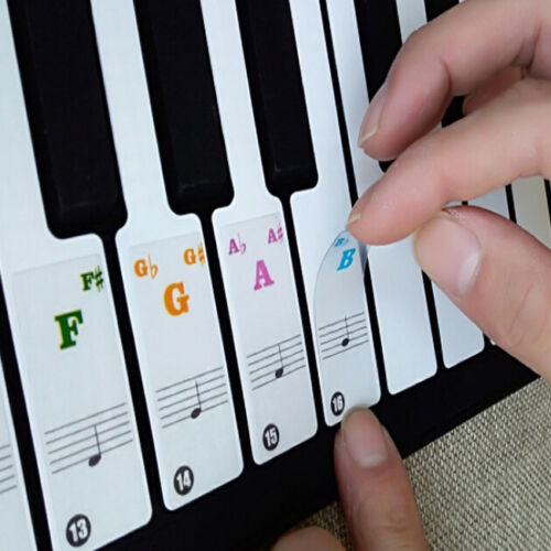 Custom Keyboard Piano Removable Arabic Diy Keyboard Stickers