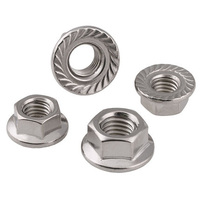 Stainless steel 316 Hex Flange Nut
