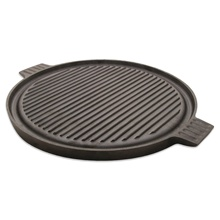 Steak Platter Grill Cast Iron Griddle Cookware Charcoal BBQ Sizzling Grill <strong>Plate</strong> / Pan