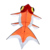 Nylon easy flying goldfish kite for kids