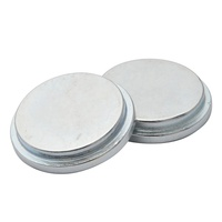 Strong silver super magnetic cheap permanent rare earth disc large neodium n52 magnet 4mm