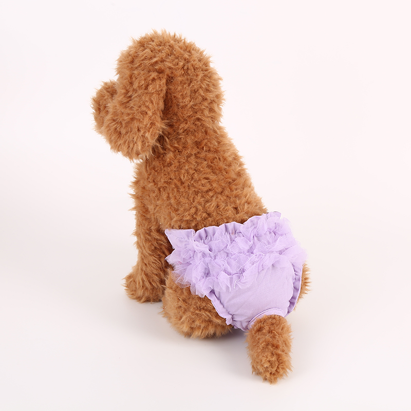 dog lace underwear reusable physiological pants pet clothes wholesale in stock fast delivery pet apparel