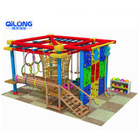 Professional Obstacle Course Playground Adventure Playground Rope Course Playground