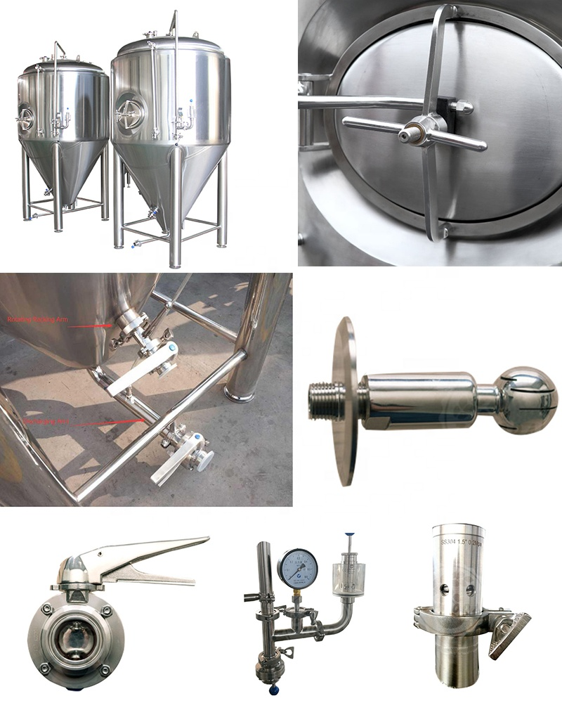 CE Approved Commercial micro beer brewery equipment Brew House system