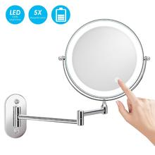Dual Sided 27 pcs leds Led Vanity Mirror Bathroom <strong>Furniture</strong>