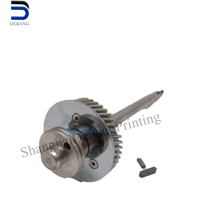 1 stainless steel gear shaft for printing machine SM52 MV.022.730 / <strong>01</strong> MV101.755 / <strong>02</strong> / G2.030.201 E2.030.207