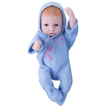 hot sale winter lifelike baby doll silicone vinyl reborn vinyl 10 inch baby dolls and custom design accepted