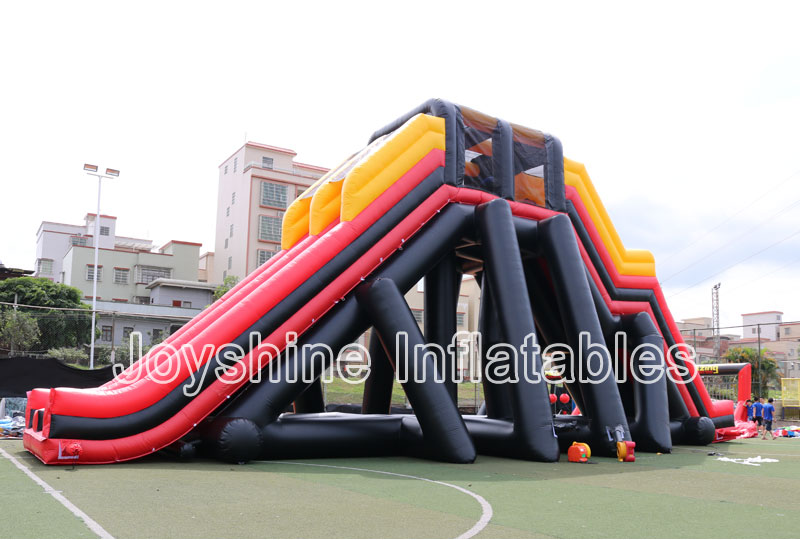 Factory Custom Kids and Adult Challenge Game 5K Obstacle Course Races Giant Commercial Inflatable Obstacle For Sale