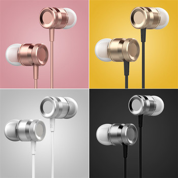 Hot sale In-Ear Headphones Basic Colorful Edition Wire Control Noise Cancelling Earphone