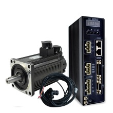 110mm flange AC servo <strong>motor</strong> and driver 1.2kw 4Nm 2500rpm servo engine and amplifier high speed cnc kit