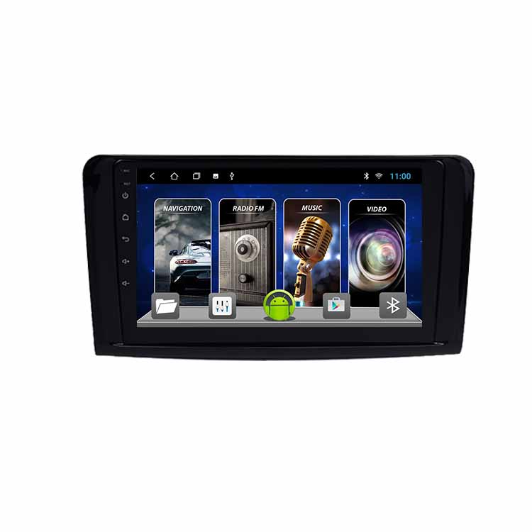 <strong>Android</strong> For Mercedes-Benz ML <strong>W164</strong> 2012-2015 Multimedia Stereo Car DVD Player Navigation GPS Video Radio IPS Playstore Bluetooth
