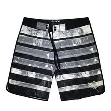 Fashion New Design <strong>Men's</strong> Beach Shorts Strip Print Swim Trunks Board Short Surf Beach With Pockets Beach Pants for <strong>Men</strong>
