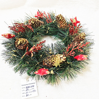 Factory wholesale Handmade Christmas wreath Christmas decorations