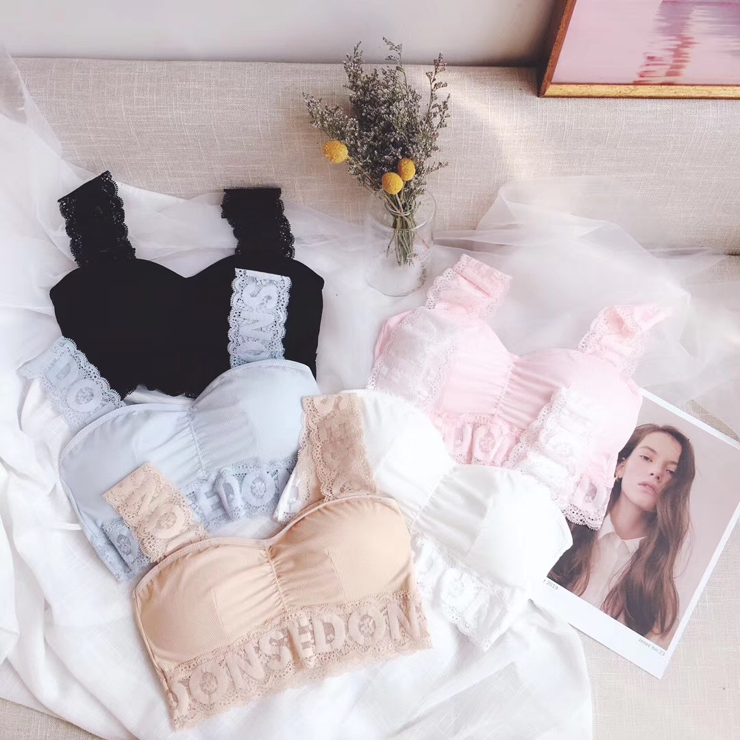New Design Underwear Women lovely Lace classic cute Bra and brief Set fashion lingerie