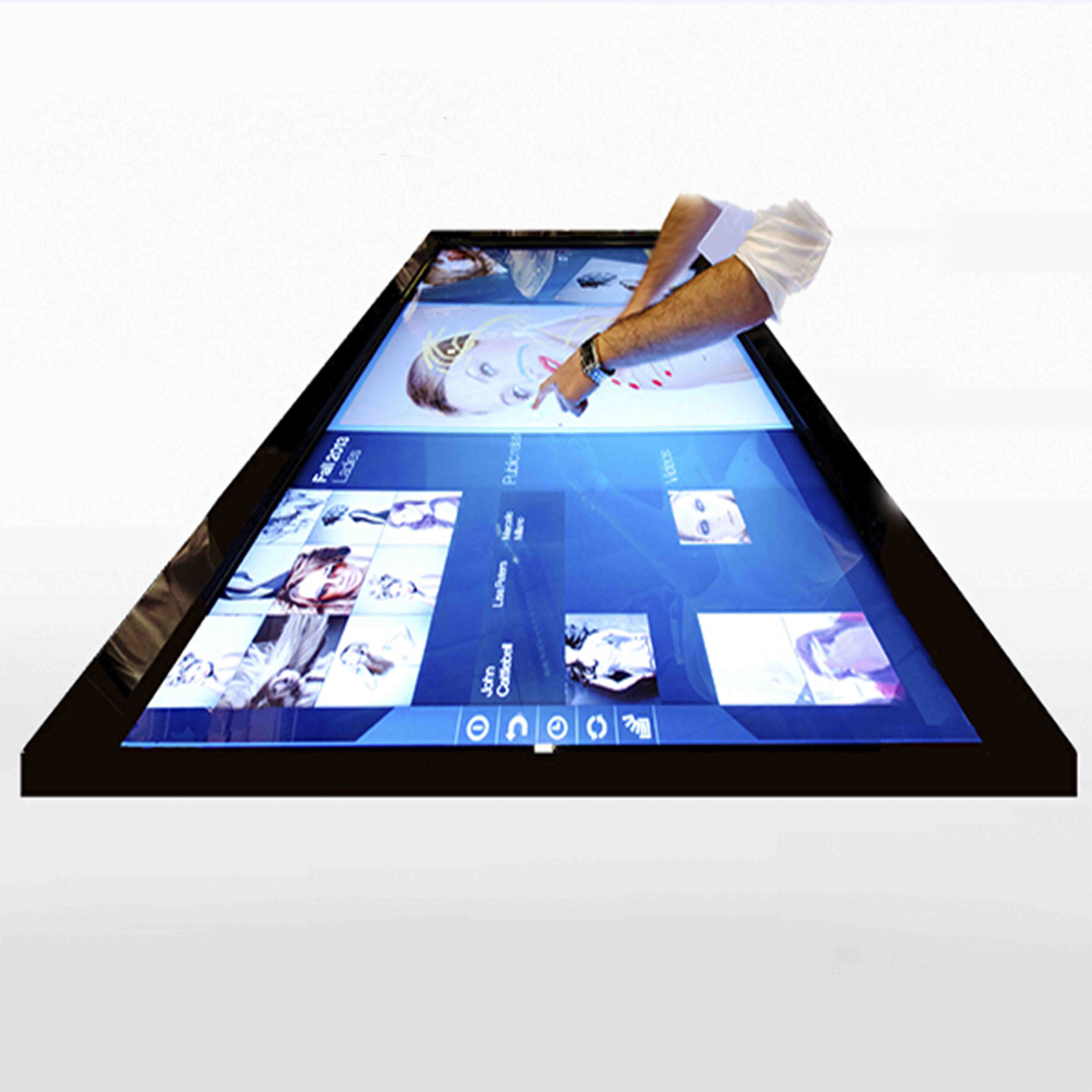 15 ,17,19, 27,32,42,55,65,70,80 inch multi-touch Infrared Touch Screen Frame for LCD Screen <strong>monitor</strong> or open frame display ,