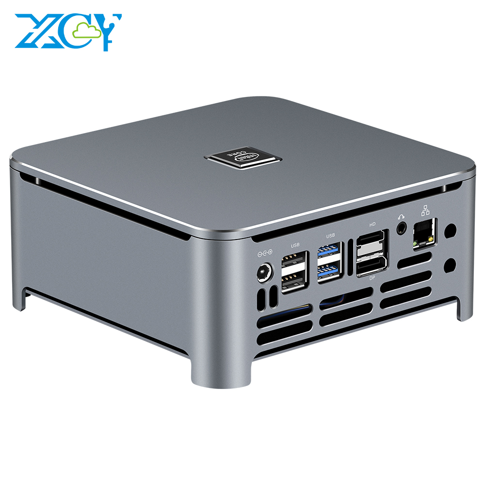 XCY Gaming pc core i5 9400H i7 9850H mini pc 8th 9th RTC PXE desktop pc DDR4 barebone <strong>system</strong>
