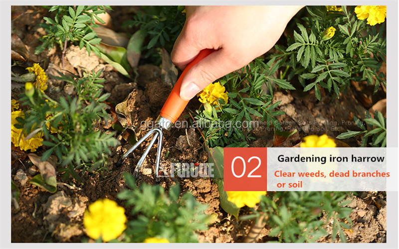 Wholesale price gardening tools gift set high quality garden hand tool set cheap gardening set tools