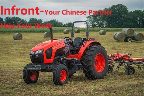 Agricultural equipment 4wd horsepower farm tractor YFT304