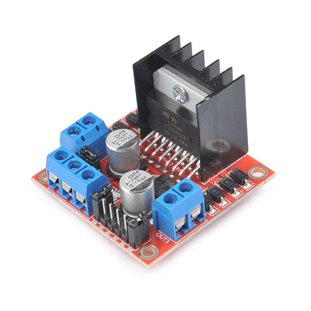 Smart Electronics~ High Quality, L298N Dual H Bridge DC Stepper Motor Driver Module Controller Board