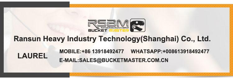 Excavator bucket design best price RSBM-320 skeleton bucket riddle sorting bucket