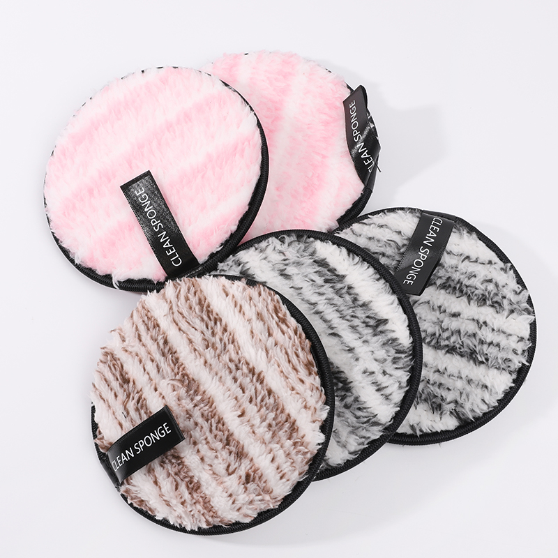 Hot sales facial cleaning reusable cotton pads for face makeup