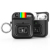 Cute Camera  Case for AirPods TPU Silicone Shockproof Protective Magnetic Cover with Keychain,for AirPods 1 & 2 Earphone Case