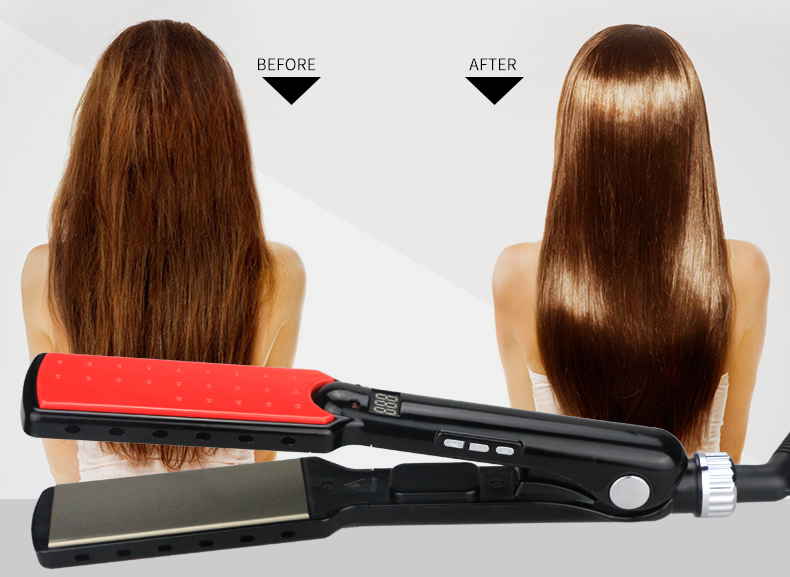 DODO L-C175 best hair straightener & flat iron rotating straightening iron hair iron