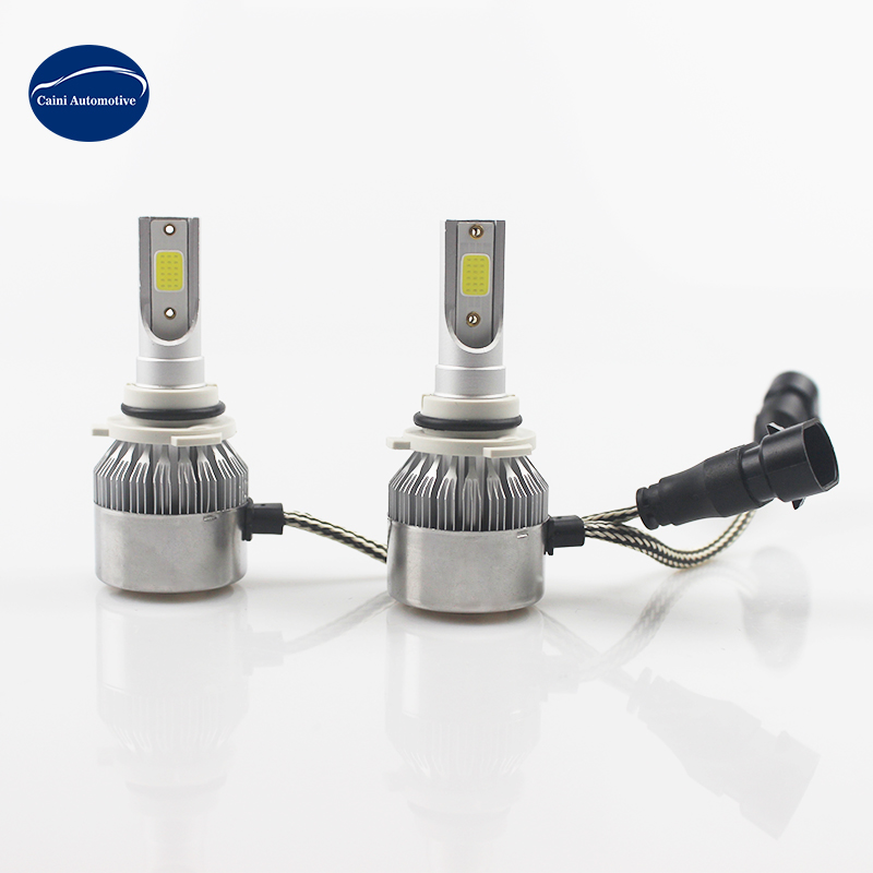 Factory TOP Selling Auto Lighting <strong>H10</strong> 9005 HB3 9006 HB4 H11 H4 H7 Led H1 H3 Car LED Headlight 6000K Light <strong>Bulbs</strong> H4 c6 led