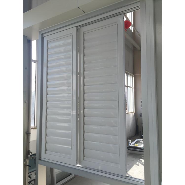 burglar proof louver window