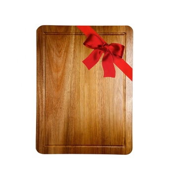 High Quality Acacia Wood Cutting Board With Handle