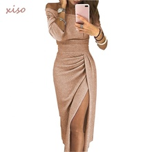 High Quality <strong>Dress</strong> Brands Women Off Shoulder High Slit Peplum <strong>Dresses</strong> Elegant Evening <strong>Party</strong> <strong>Dress</strong>