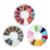 TSZS Factory Direct Nail Art Mixed Colorful Stone Set Metal Color Bead Set Beautiful Acrylic Nail Accessories