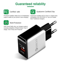 Quick Charge 3.0 USB Charger Adapter 18W For Samsung s9 s8 iPhone X 8 7 plus 6s Fast Charger for xiaomi mi8 honor 10 huawei p20