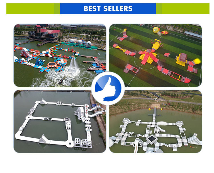 Floating Project Summer Aqua Trampoline Water Play Amusement Park Inflatable Water Equipment Obstacle Course Parks Prices