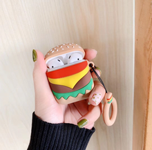 Cute Cartoon Soft Silicone Case for Airpods Case Wireless Bluetooth Earphone Cover for Airpods Accessories Headphones Case Box