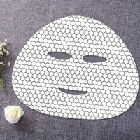 Graphene facial mask paper raw material dry cotton mask form cloth non woven fabric for face mask sheet DIY OEM bio cellulose