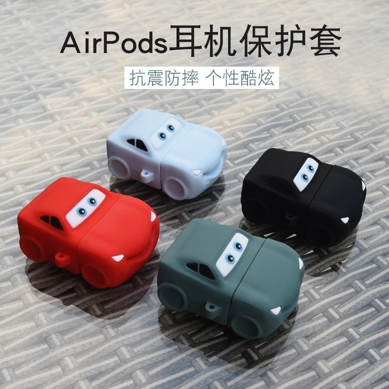 Free sample top quality unique car style protective silicone cover for airpods pro case