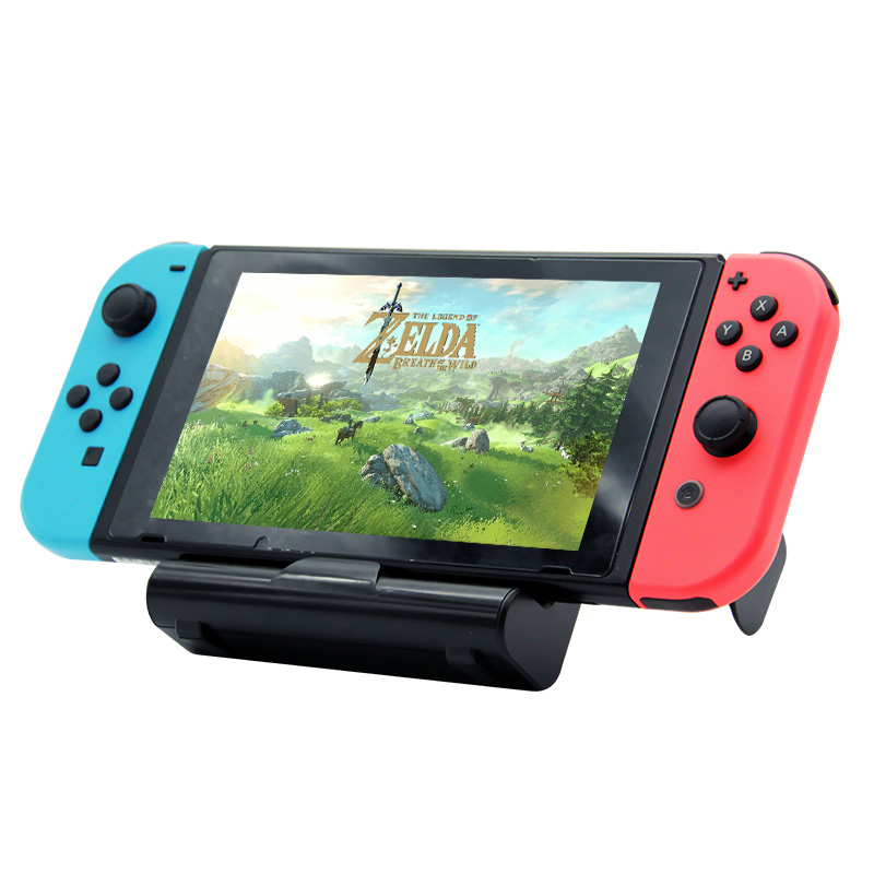 Wholesale Mini portable adjustable foldable game console charging dock for Nintendo Switch