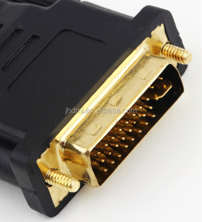 HDMI male to DVI 24+5 female adaptor HDMI to DVI  female to male Multimedia switching Adapter